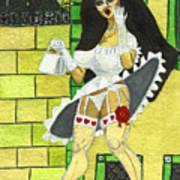 Skirt Up Art Print