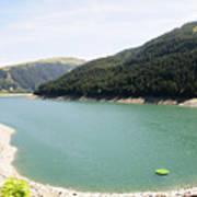 Funsingau Dam Near Gerlos Art Print