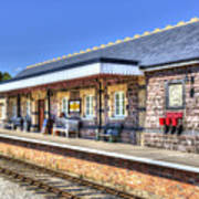 Furnace Sidings Railway Station 2 Art Print