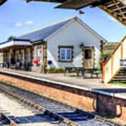 Furnace Sidings Railway Station Art Print