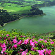 Furnas Lake Azores Art Print
