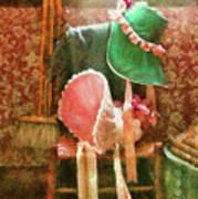 Furniture - Chair - Bonnets  Art Print