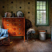 Furniture - Chair - American Classic Art Print