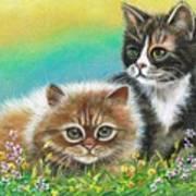 Furry Friends Art Print
