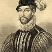 Gabriel De Lorges, Comte De Montgomery Art Print