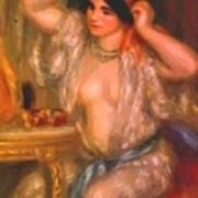 Gabrielle At The Mirror 1910 Art Print