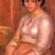 Gabrielle Seated Art Print