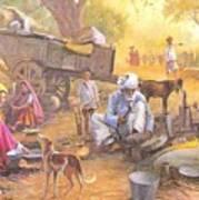 Gadiya Luhar Art Print