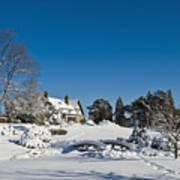 Gairloch House In Winter Art Print