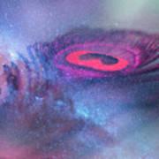 Galactic Eye Art Print