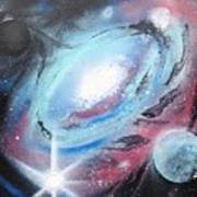 Galaxy 2.0 Art Print