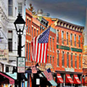 Galena On A Perfect Day Art Print