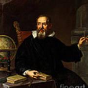 Galileo Galilei, Italian Astronomer Art Print