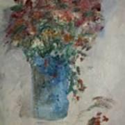 Gallon Can Florals Art Print