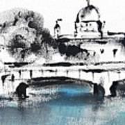 Galway - Monochromatic  Art Print