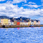 Galway On The Water Art Print