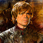 Game Of Thrones. Tyrion Lannister. Art Print