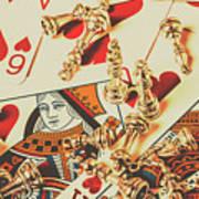 Games Of Love Art Print