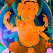 Ganapati 4 Art Print