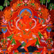 Ganapati 5 Art Print
