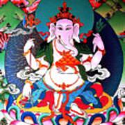 Ganapati  6 Art Print