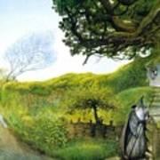 Gandalf Houses Tolkien The Magician Art Print