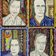 Gang Of Four Art Print by Robert SORENSEN