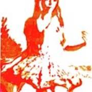 Ganjiro Gyaru Art Print