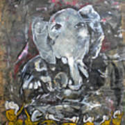 Ganpati 4 Art Print