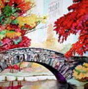Gapstow Bridge I Art Print