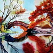 Gapstow Bridge II Art Print