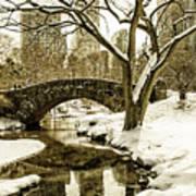 Gapstow Bridge Art Print