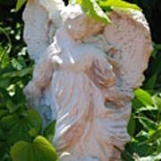 Garden Angel Art Print
