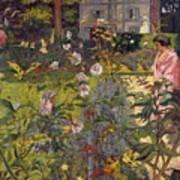 Garden At Vaucresson Art Print