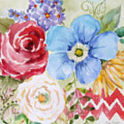 Garden Beauty-jp2958b Art Print