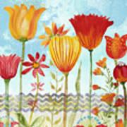 Garden Beauty-jp2960b Art Print