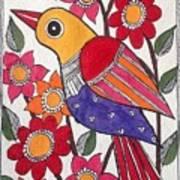 Garden Bird Art Print