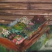 Garden Box Art Print
