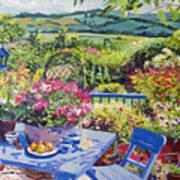 Garden Country Art Print