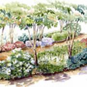 Garden, Dark Side Art Print