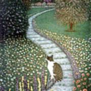 Garden Delights II Art Print