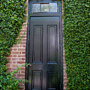 Garden Door Art Print
