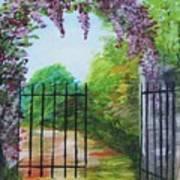 Garden Entrance Art Print