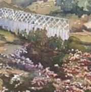 Garden Fence Art Print