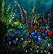 Garden Flowers 56 Art Print