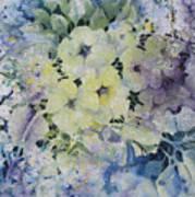 Garden-flowers Art Print