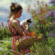 Garden Gatherings Art Print