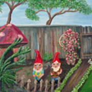 Garden Magic Art Print