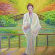 Garden Meditation Art Print