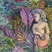 Garden Muse Art Print